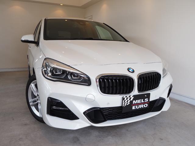 BMW 2シリーズ 218dグランツアラー Mスポーツ 純正ナビ インテリジェントセーフティ クリアランスソナー 3列シート LEDヘッド Mスポーツ専用アルカンターラシート・バックカメラ