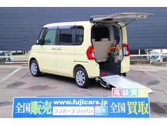 タント福祉車両 フレンドシップ X SA スロープ リヤシート付