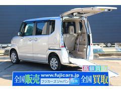 N BOX+福祉車両 G−L アルマス スロープ 電動ウィンチ 4WD