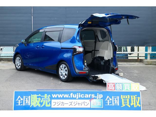 トヨタ 福祉車両 ウェルキャブ スロープ 電動車イス固定装置
