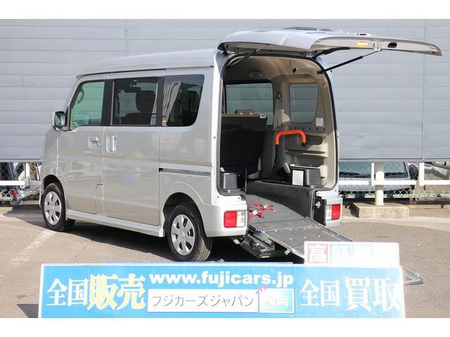日産 福祉車両 4WD スロープ 電動ウィンチ 純正ナビ 地デジ