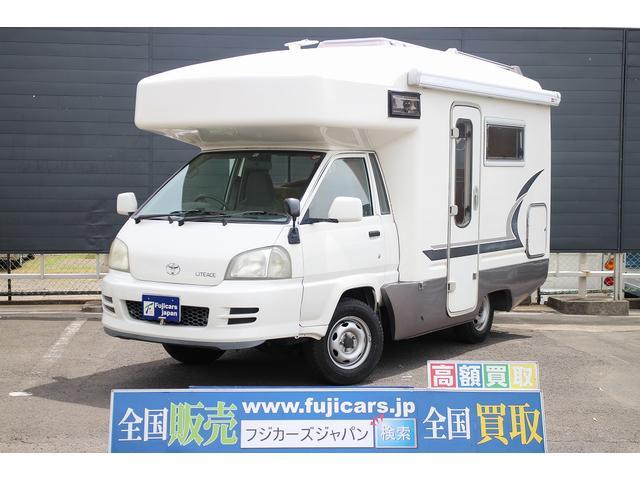 トヨタ キャンピング バンテックJB490T ソーラーパネル テレビ