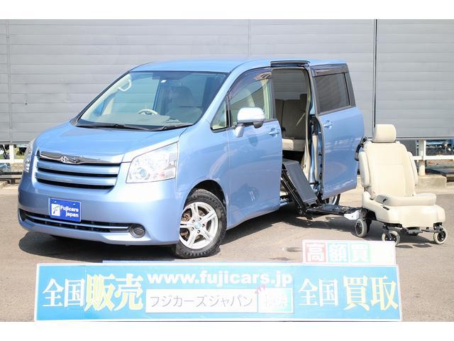 トヨタ 福祉車輌 脱着サイドリフト 電動介護 純正HDDナビ 4WD