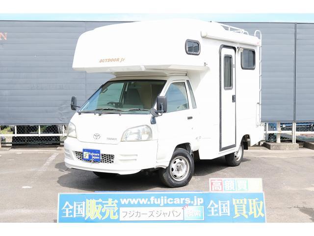 トヨタ キャンピング アウトドアジュニア 4WD 家庭用エアコン