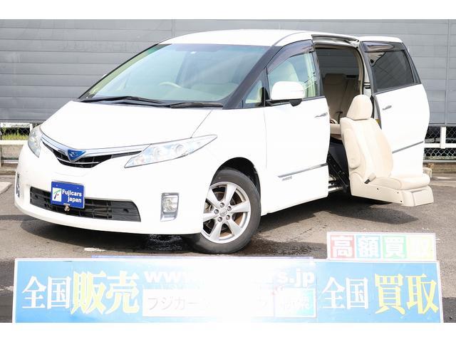 トヨタ X 福祉車輌 二列目サイドリフト 4WD 純正SDナビ地デジ