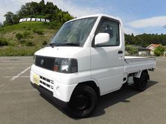 クリッパートラックパートタイム4WD 5MT パワステ エアコン付き