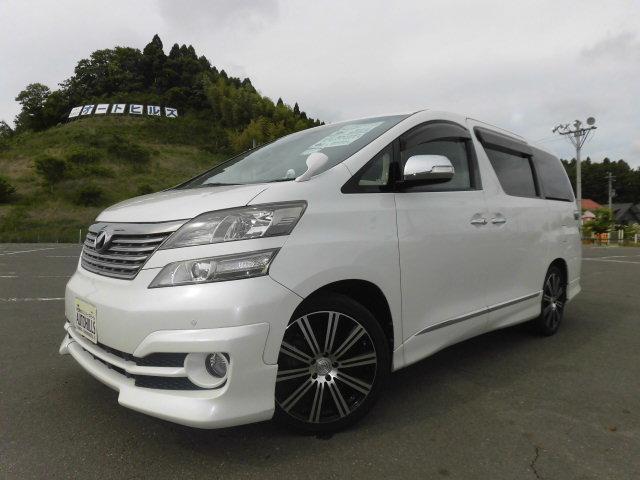 トヨタ 2.4V HDDナビ フルセグTV 両側電動 ワンオーナー
