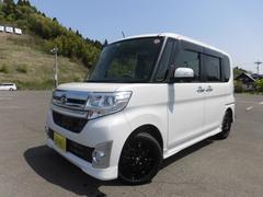 タントカスタムRS SA 純正SDナビTV 新品タイヤアルミセット