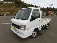 サンバートラックTB 三方開 5MT 4WD パワステ エアコン付き