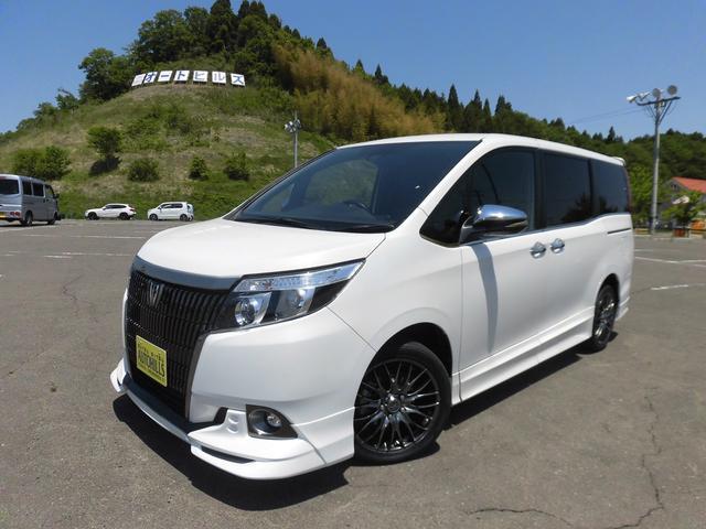 トヨタ Gi ブラックテーラード 純正9型ナビ 後席モニター LED