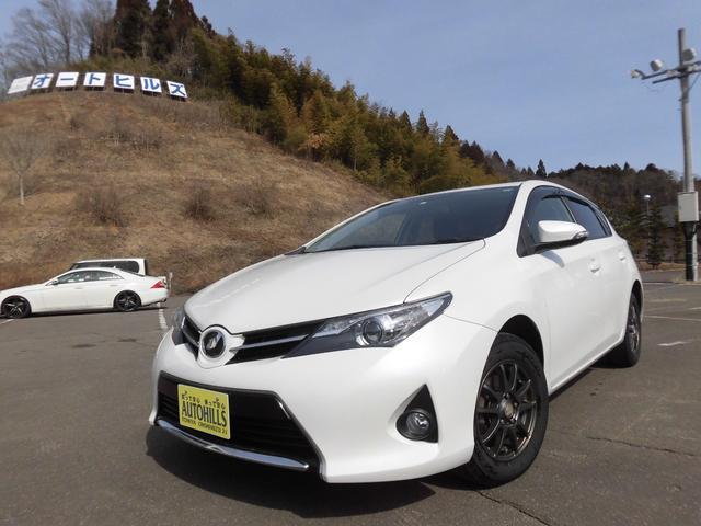 トヨタ オーリス 150X 4WD カーナビ フルセグTV Bluetooth対応 バックモニター ETC 横滑り防止