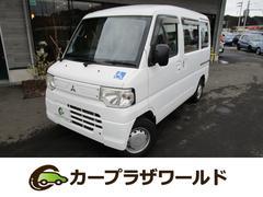 ミニキャブバンCD 車椅子乗降用電動リフト ABS パートタイム4WD UVカットガラス
