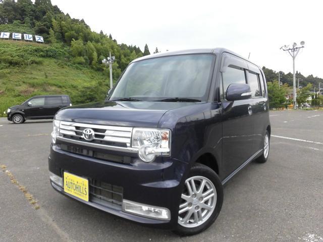 トヨタ ピクシススペース カスタム X デイスプレイオーディオ DVD Bluetooth スマートキー HIDヘッドライト アイドリングストップ オートエアコン