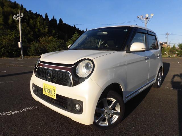 ホンダ N-ONE プレミアム 4WD/カーナビ TV DVD再生 バックモニター ETC プッシュスタート スマートキー HIDヘッドライト 横滑り防止 オートエアコン