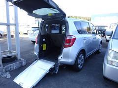 ラクティス福祉車両 リヤスロープ式車いす移動車