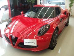 アルファロメオ 4Cベースグレード 黒革 LEDライト レザー&スポーツPKG