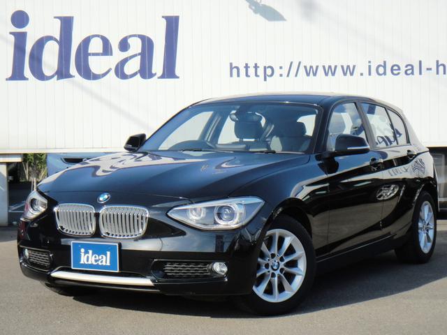 BMW 116i スタイル 半革 純正HDDナビ キセノン 1オーナ