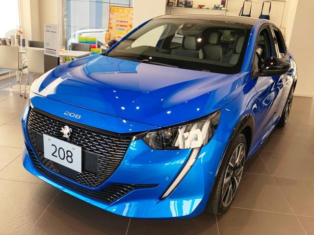 208(プジョー) GTライン 半革 LED Bカメラ ACC レーンキープ 新車保証継承 中古車画像