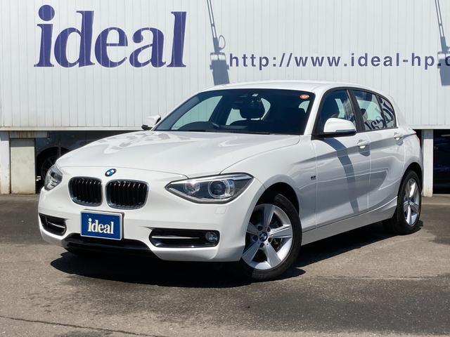 BMW 1シリーズ 116i スポーツ ワンオーナー 純正HDDナビ バックカメラ キセノンライト ETC アイドリングストップ プッシュスタート 純正16AW Bluetooth接続 ミュージックサーバー