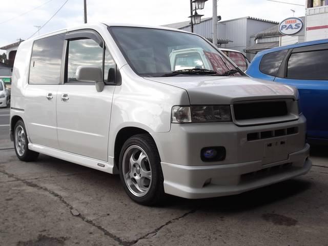 ホンダ W 4WD モデューロエアロ ローダウン
