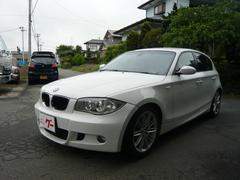 BMW118i 本革シート 社外ナビ プッシュスタート キーレス