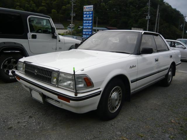 トヨタ スーパーサルーンエクストラ リアエアコン 電動リアカーテン