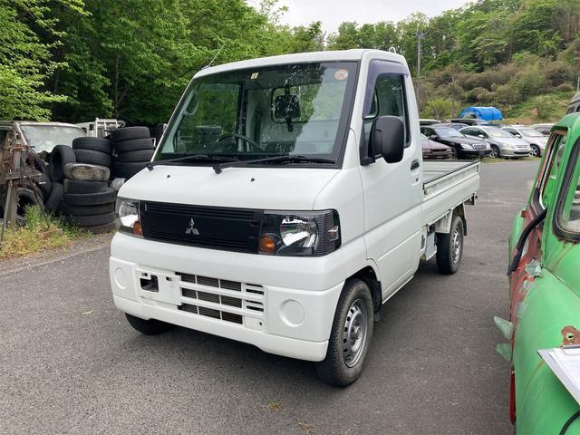 三菱 VX-SE 4WD AC MT 軽トラック ホワイト