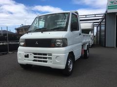 ミニキャブトラックPTOダンプ 4WD