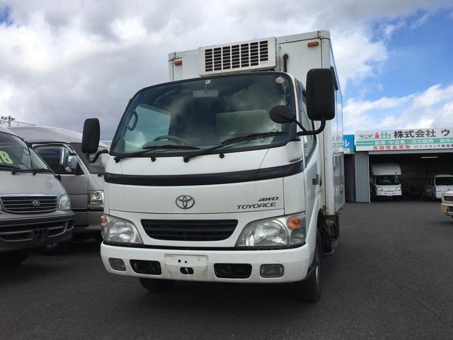 トヨタ 2.5DT 冷凍冷蔵車-7℃ 4WD