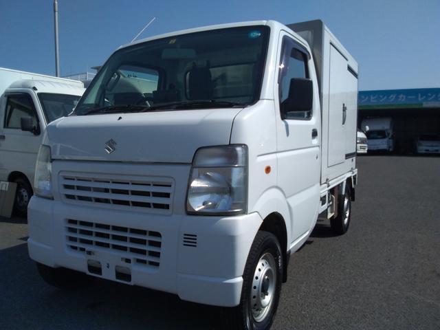 スズキ 4WD 冷凍冷蔵車ー5℃