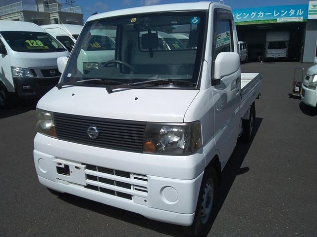 日産 トラック660DXエアコンパワステ付 4WD
