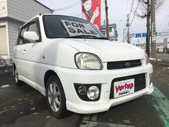 プレオFタイプS 軽自動車 ETC 4WD ピュアホワイト CVT