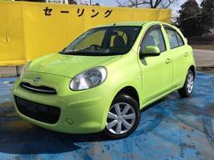 マーチ12X FOUR 衝突安全ボディ 4WD CD AUX