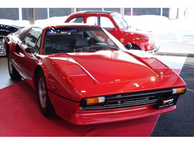 フェラーリ GTS 正規ディーラー車 キャブOH済 ブラックレザーシート