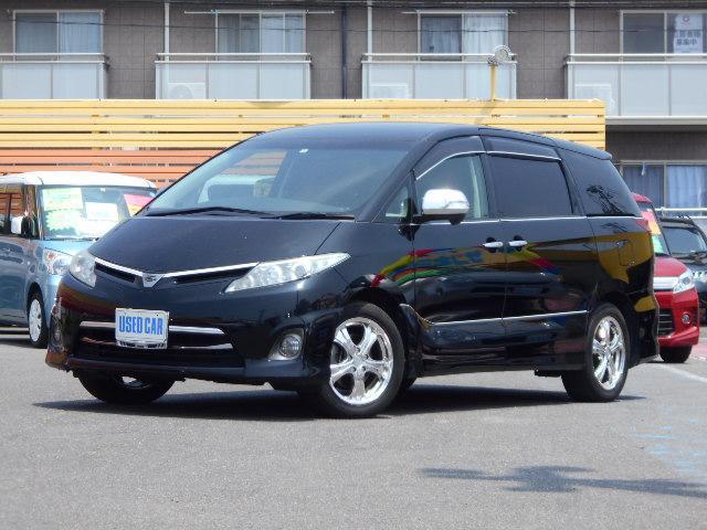 トヨタ 2.4アエラス Gエディション HDDナビ 両側電動ドア