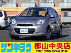 マーチ12X FOUR 切替4WD インテリキー  ETC
