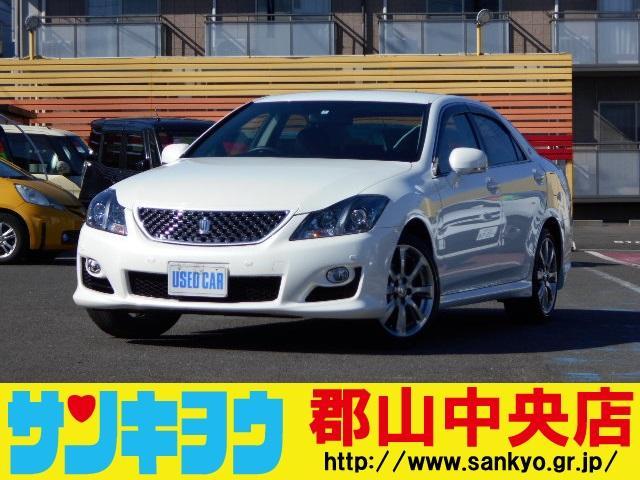トヨタ 2.5アスリート ナビパッケージ TV・バック&サイドカメラ