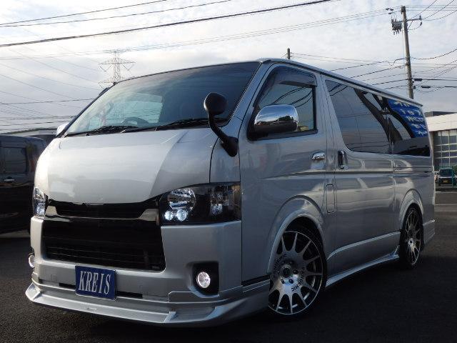 トヨタ ロングスーパーGL 4型フェイス LEDヘットライト