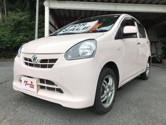ミライースXf 軽自動車 4WD インパネCVT ワンオーナー 保証付