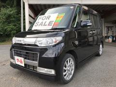 タントカスタムRS ナビ 軽自動車 4WD インパネAT 保証付
