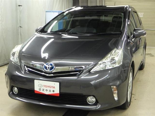 トヨタ プリウスアルファ S HDDナビ フルセグ スマートキー ETC Bモニター
