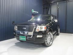 フォード エクスプローラーXLT 4WD サンルーフ 社外HDDナビ 22インチAW