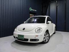 VW ニュービートルLZ サンルーフ 本革シート 社外SDナビ・フルセグTV