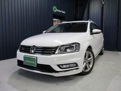 VW パサートヴァリアントRラインエディション 社外ナビ・フルセグ キセノン ETC