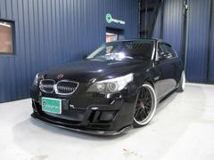 BMW530iハイライン 本革 SR エアサス公認 フルエアロ