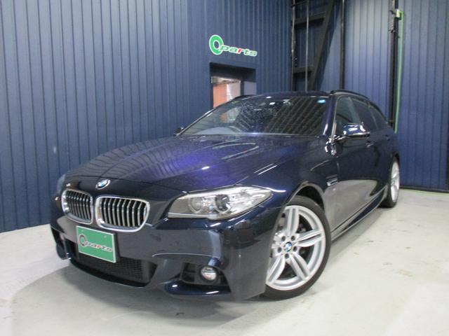 BMW 523iツーリング Mスポーツ 純正ナビ・DTV ACC