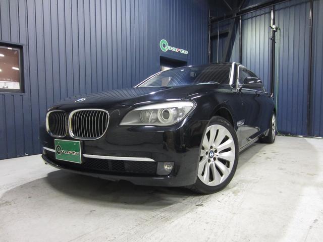 BMW 7シリーズ アクティブハイブリッド7L アクティブハイブリッド7L(4名) 左ハンドル サンルーフ 本革シート パワーシート シートヒーター クリアランスソナー クルコン 純正HDDナビ フルセグ Bluetooth Bカメラ サイドカメラ