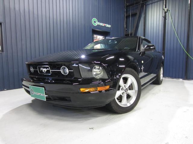 フォード マスタング V6 プレミアム 社外HDDナビ フルセグTV 社外セキュリティシステム 純正17インチAW クルーズコントロール バックカメラ ETC キーレス