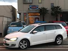 VW ゴルフヴァリアントTSIコンフォートラインプレミアムエディション ディーラー車