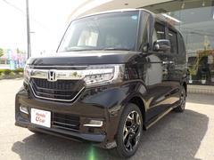 N BOXカスタムG・Lターボホンダセンシング 4WD ナビTV ETC